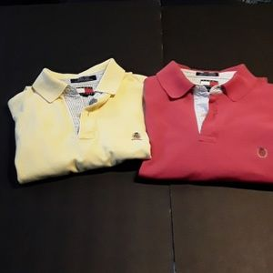 2 Tommy Hilfiger Polo Shirts